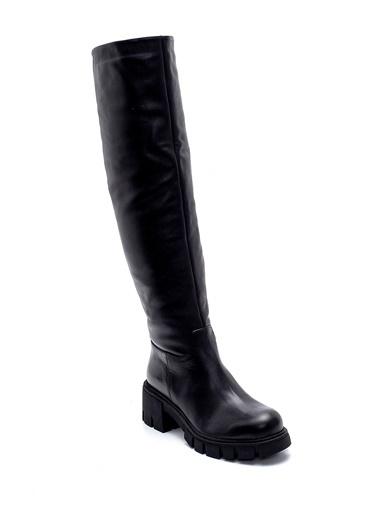 Derimod Kadın Çizme (20287) Casual Siyah